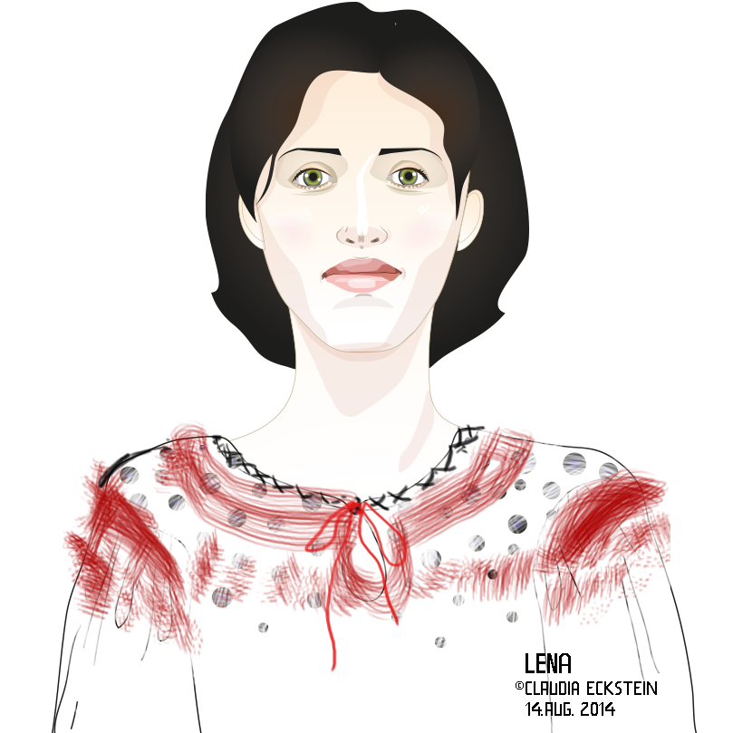 Portrait Lena, August 2014