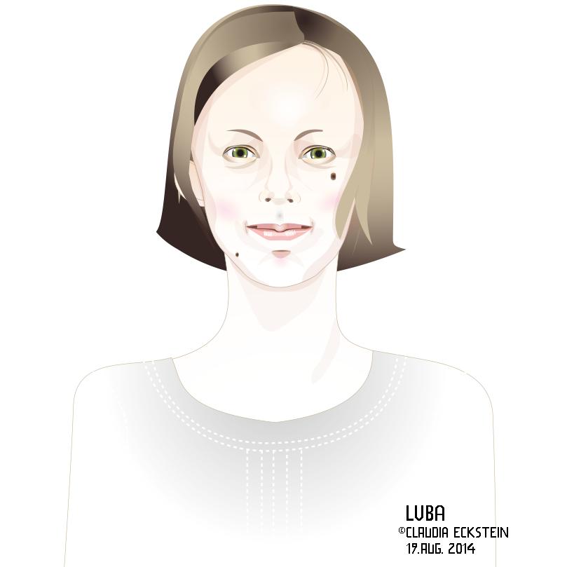Portrait Luba, August 2014