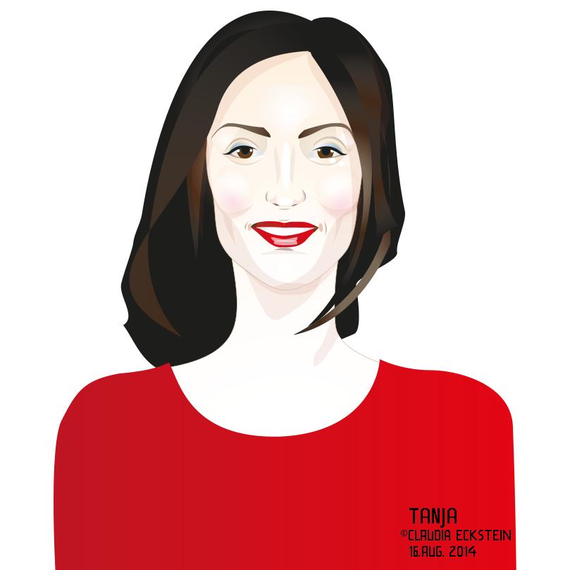 Portrait Tanja, August 2014