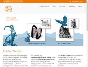 Grafikdesign und Webdesign für Fraueckstein.de