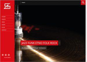 Webdesign und Grafikdesign für die Ethno-Rock-Band Stoart