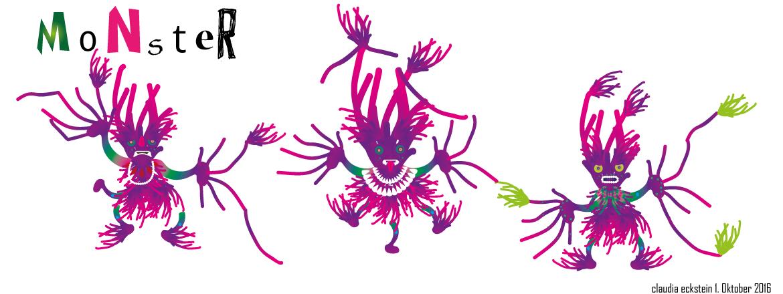 Monster inspiriert von Sascha